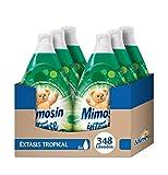 Mimosín Intense Extasis Tropical Suavizante Concentrado para 58 Lavados - Paquete de 6 Suavizantes
