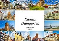 Ribnitz Damgarten Impressionen (Tischkalender 2022 DIN A5 quer): Zwoelf einmalig schoene Bilder der Stadt Ribnitz Damgarten (Monatskalender, 14 Seiten )
