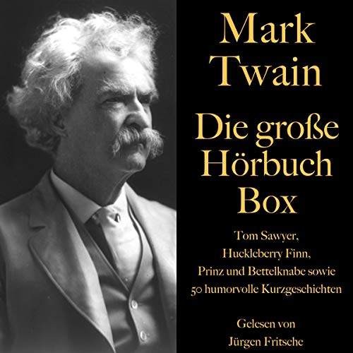 Mark Twain - Die große Hörbuch Box Titelbild