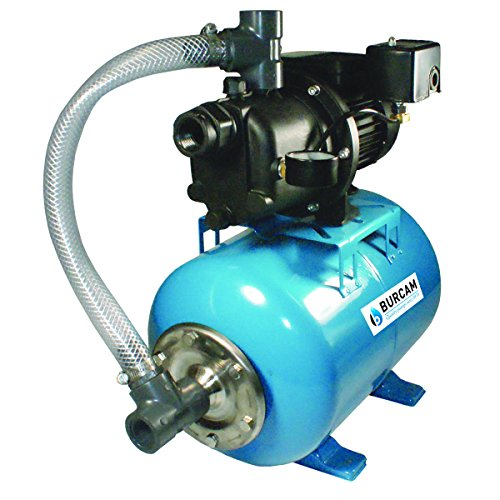 BURCAM 506227P 3/4 HP Noryl Shallow Well Jet Pump System
