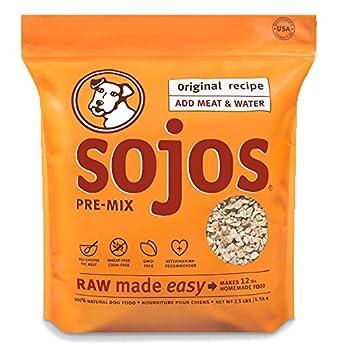 Sojo s Original Ready-To-Mix Dog Food 2.5 pounds