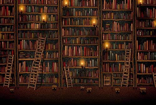 Klassieke Puzzel 1000 Stukjes Diy Kinderen Volwassen Houten Puzzel Bibliotheek Ladder Volwassen Vrije Tijd Creatief Kruiswoordraadselspel Educatief Speelgoed Voor Kinderen