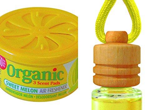 Aroma Duo Sweet Melon. 1x Organic Scent Aroma fiambrera