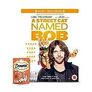 A Street Cat Named Bob [Blu-ray] and Dreamies Cat Treat Set