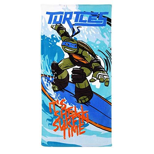 Tortugas Ninja Toalla de Playa (100% algodón)