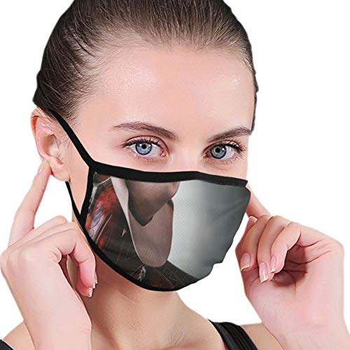 Mouth Face Mask Anti Breathable Filter Dust Absorb Sweat Washable Reusable Masks for Cycling Camping Ski Travel Outdoor,Horse Saddle with A Cowboy Hat Wild Texas Fashion States Men Whip It Picture