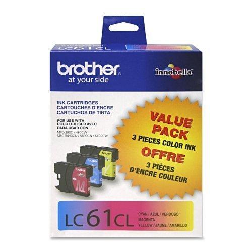 Brother MFC-J270w 3-Color Ink Combo Pack (OEM) 325 Pages Ea.