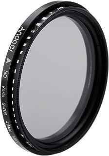 49mm ND filter 49mm ND Fader Neutral Density Adjustable ND2 to ND400 Variable Filter for DSLR Camera