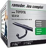 Rameder Attelage démontable avec Outil pour Toyota Verso + Faisceau 7 Broches (141681-08158-1-FR)