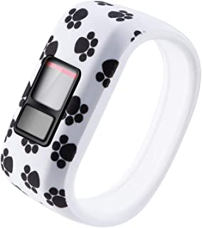 HappyTop Kid's Watchband Compatible for Garmin VivoFit Jr/Jr 2/ Vivofit3, Silicone Strap