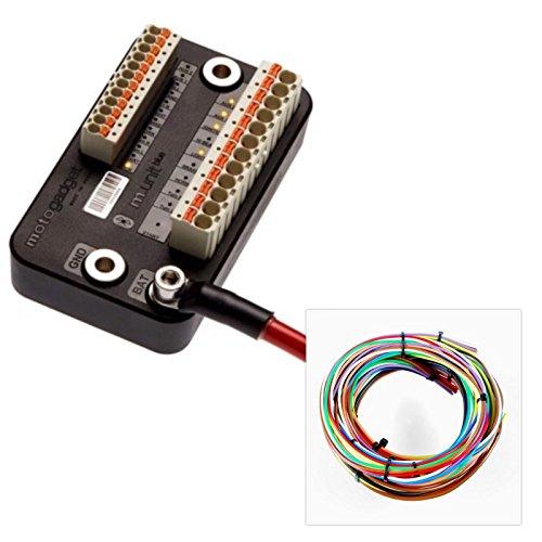 Motogadget MG4002040 - m-Unit Blue Digital Control Unit Builders Pack mit Kabelsatz
