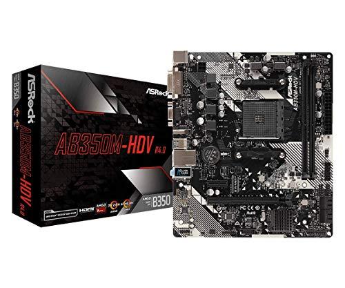 Asrock MB AMD AM4 ASRock AB350M-HDV R4.0