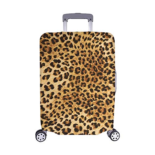 InterestPrint Leopard Skins Colorful Wild Animal Print Travel Luggage Cover Suitcase Baggage Cover Fits 22'-25' Suitcase