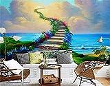 Papel Pintado Murales De Pared 3D Autoadhesivo Papel Tapiz Para Niños, Habitación, Decoración Del Dormitorio Póster Pintura De Pared Decorativa-Mundo Maravilloso(400x280CM)