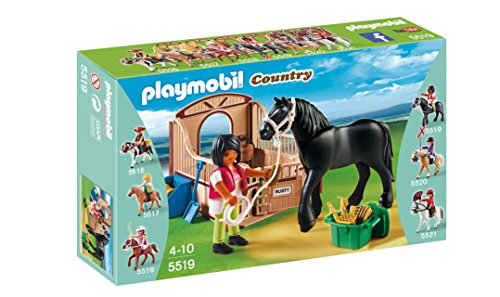Playmobil 5519 Country Black Stallion Horse