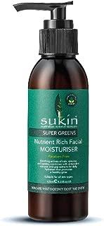 Sukin Super Greens Nutrient Rich Facial Moisturiser 4 23 fl oz 125 ml