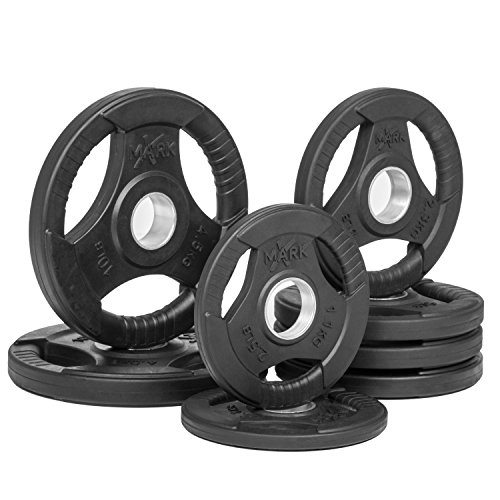 Tri-grip Olympic Plate Weights