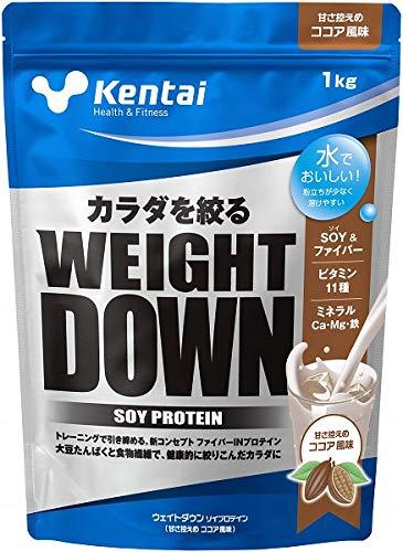 Kentai(ケンタイ) ウエイトダウンSOYプロテイン ココア風味 K1240