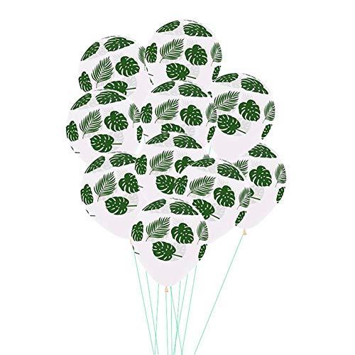 Ardentity ballonnen, verjaardag, decoratie, 12 inch, palmblad, schildpad, luchtballonnen, latexvorm, voor feestaccessoires, decoratie