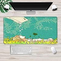 マウスパッド ゲーミングマウスパッド滑り止めラバーベースマウスパッドデスクトップコンピュータノートブックマウスパッドAL(30X70Cm)