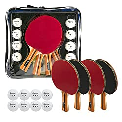 best top rated table tennis paddles 2021 in usa