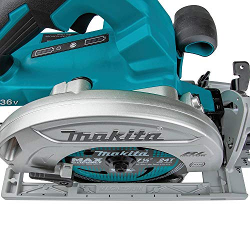 "Makita XSH06Z 18V X2 LXT Lithium-Ion (36V) Brushless Cordless 7-1/4"" Circular Saw, Tool Only"