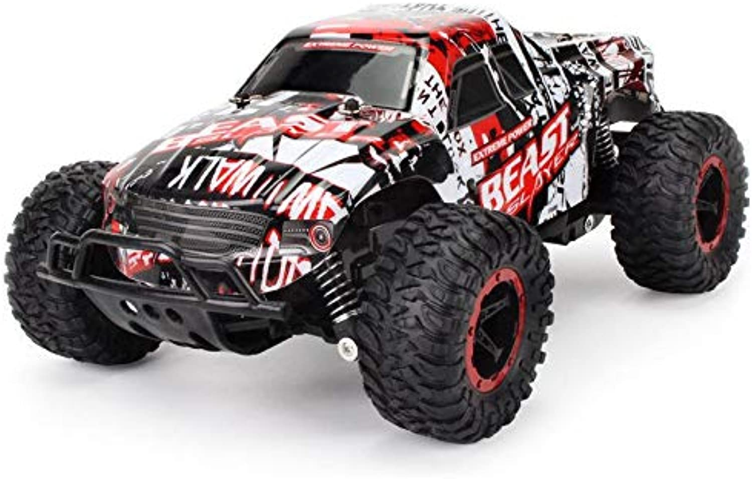 FidgetGear Cheetah King Remote Control Toy RC Rally Truck Car 2.4 GHz 1 20 Scale Size