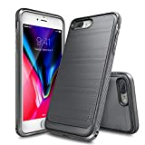 Ringke Funda iPhone 7 Plus/iPhone 8 Plus, [Onyx][Fuerza elástica] Durabilidad Flexible,...
