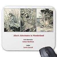 アーサー・ラッカム『 不思議の国のアリス 』のマウスパッド 3:フォトパッド(アリスシリーズ)