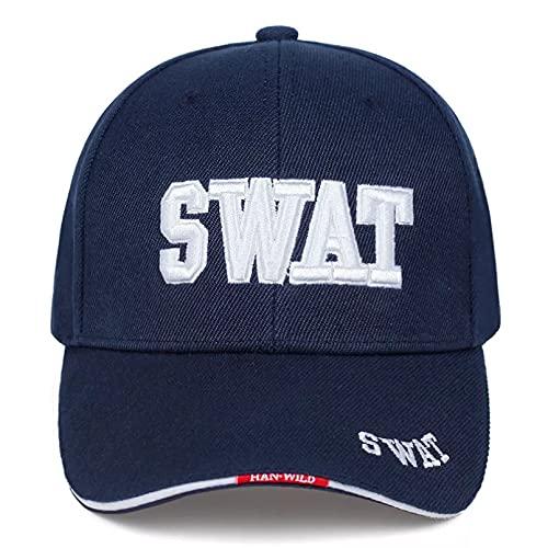 TDPYT Gorra de béisbol Universal Gorras de béisbol de Moda Gorra Swat Gorras Snapback Sombrero de Golf con Bordado de Letras Ajustables de algodón al Aire Libre Regalo de cumpleaños