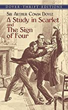 A Study in Scarlet and The Sign of Four (Dover Thrift Editions) by Sir Arthur Conan Doyle (2003-09-17)