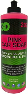 3D Pink Car Soap - 16 oz. | Car Wash & Cleaner | Made in USA | All Natural | No Harmful Chemicals