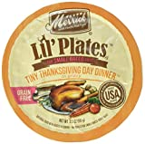 Merrick Lil's Plates 3.5-Oz Grain Free Wet Food for Small Breed Dogs 12 Cans - Tiny Thanksgiving Day Dinner