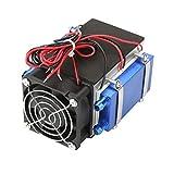 Módulo enfriador de semiconductores, kit enfriador de semiconductores para bricolaje, enfriador de semiconductores, chip 4/6 para aire acondicionado para mascotas de(4-core)