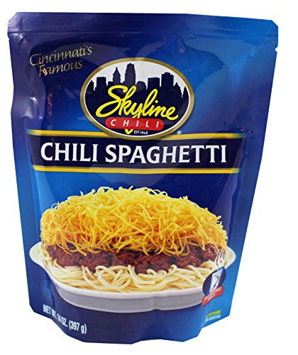 Skyline Chili Spaghetti, 14oz Microwavable Pouch