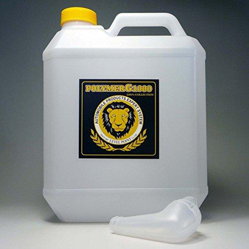 コーティング剤 超撥水性能を装備したガラス繊維系コーティング剤・濃縮原液タイプのポリマーG1000・4000ml(液剤のみ)