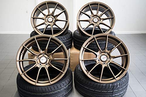 4 x 19 Zoll Motec MCR2 Ultralight Alu Felgen 8,5x19 5x112 ET43 bronze für A Klasse B C63 Coupe Cabrio T-Modell 45 AMG CLA Shooting Brake E GLA GLE GLK M R S V Vito NEU