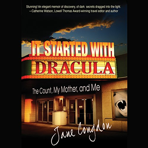 It Started with Dracula audiobook cover art