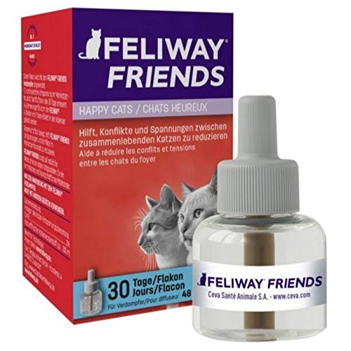 FELIWAY Friends 30 Day Refill, helps to reduce conflict in multi-cat...