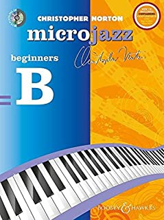 MICROJAZZ FOR BEGINNERS (NEW EDITION) WITH CD (BEGINNERS 'B'): Revised
