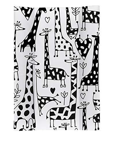 Rotho Babydesign Matelas à Langer avec Cales Happy Family, Dès 0 Mois, TOP, 70 x 50, Coloré, 20099 0001 CW