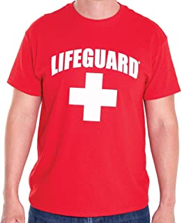 LIFEGUARD Officially Licensed Short Sleeve Crew Neck T-Shirt for Men Women Unisex Tee