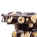 KERNschmelze Zartbitter-Schokolade mit Haselnüssen – handgefertigte Nuss-Schokolade, Schokoladen-Stücke mit frisch gerösteten Nüssen, 350 g