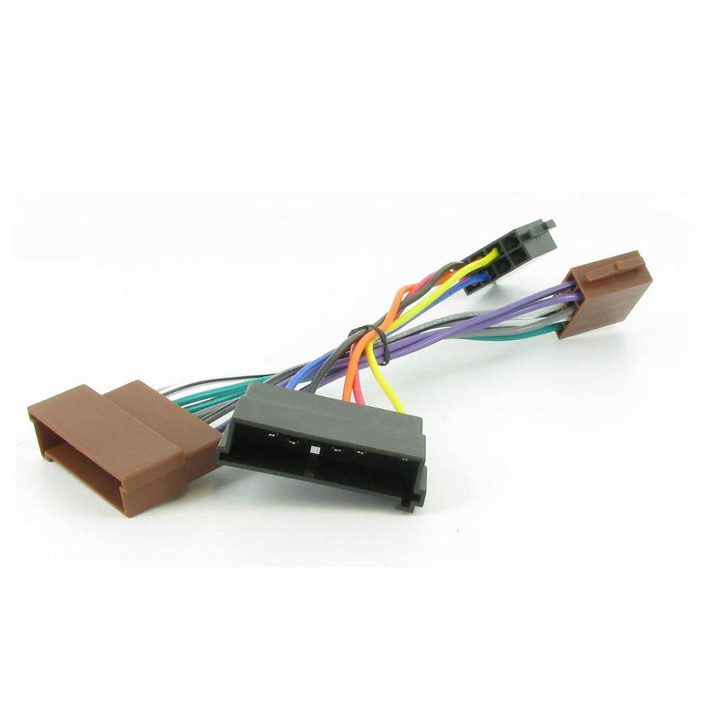 Amazon.com: Wiring Harness Adapter for Ford Cars till 2004 ISO Stereo Plug  Adaptor: Automotive | Ford Stereo Wiring Harness Adapter |  | Amazon.com