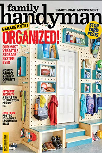 Family Handy Man Magazine - Organized