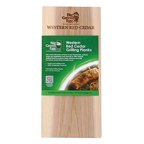 Big Green Egg - Planchas para barbacoa (madera de cedro)