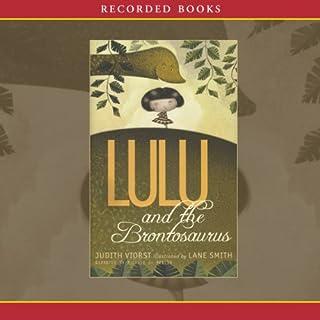 Lulu and the Brontosaurus audiobook cover art
