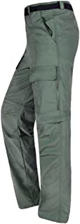 Baymate Homme Outdoor Sport Trekking Convertible Chemise et Pantalon
