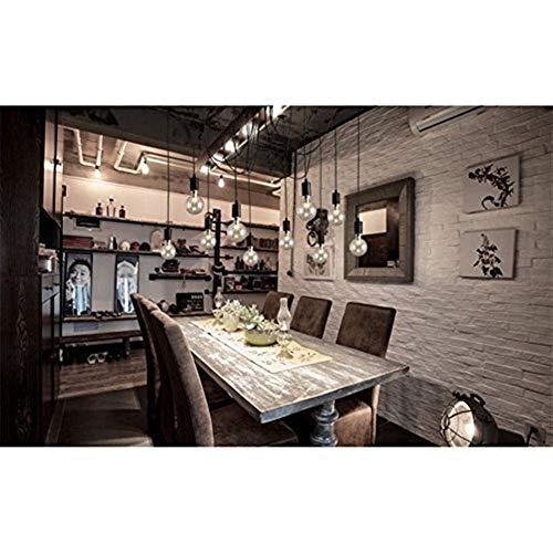 Lámparas de araña, Lámparas Colgantes Estilo Industrial Chandelier Moderno Minimalista Vintage Bar Techo Colgante Lámpara Retro Arte Creativo Dormitorio Araña, 10 Lámparas Lámpara Color: 8 Lámparas