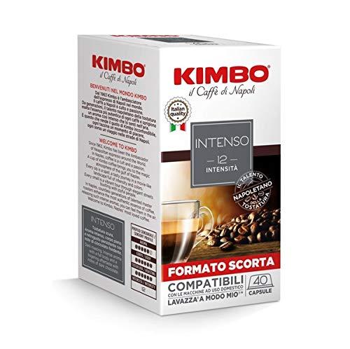 Kimbo Capsule Di Caffè Intenso Compatibili Lavazza A Modo Mio, Totale 160 Capsule - 900 g